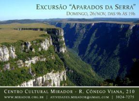 Excursão: Aparados da Serra